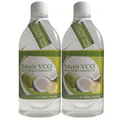MeritVCO ( 500ML Pack  x 2 )