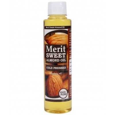 Merit Sweet Almond oil ( 250 ML Pack )